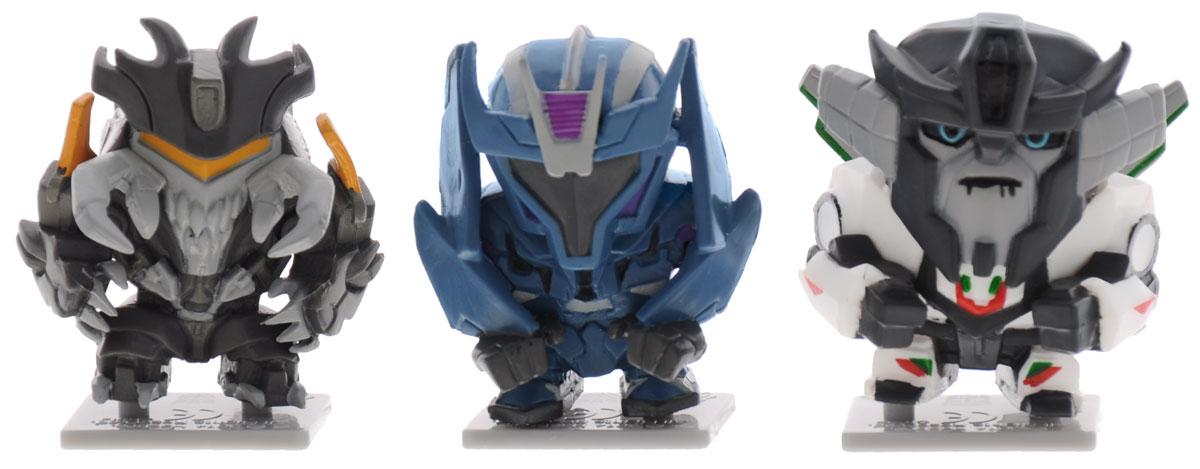 Transformers Набор коллекционных фигурок 3 шт цвет белый синий черный