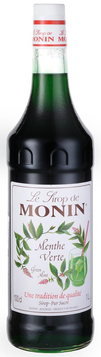 Monin Зеленая Мята сироп, 1 л