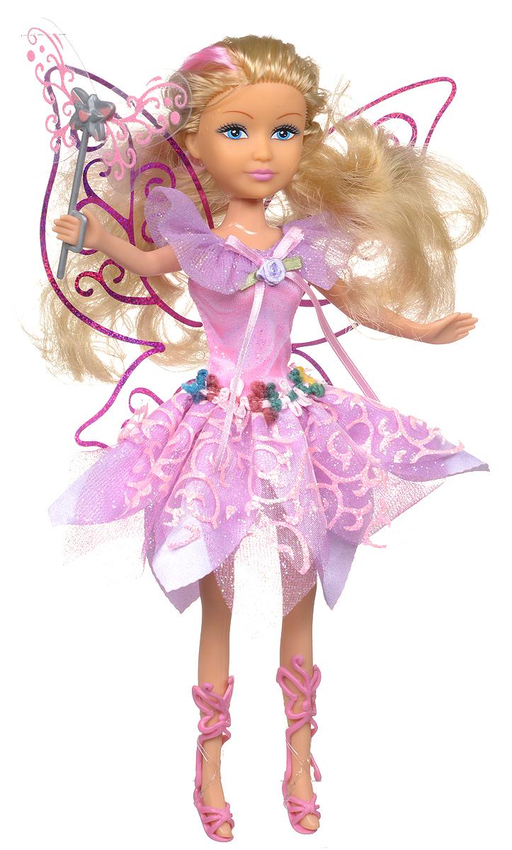 ABtoys Кукла Волшебная мелодия в розовом платье240347_в розовом платьеВеликолепная кукла ABtoys Волшебная мелодия обязательно порадует вашу малышку и доставит ей много удовольствия от часов, посвященных игре с ней. Куколка одета в шикарное розовое платье, украшенное блестками и декоративными цветами, а за спиной у нее - большие полупрозрачные крылья. Ножки, голова и ручки куколки подвижны. Вашей дочурке непременно понравится расчесывать и заплетать длинные светлые волосы куклы. При нажатии на кнопку на животике куклы раздастся волшебная мелодия. Вместе с куклой в наборе предлагается волшебная палочка. Brilliance Fair - милые подружки! Эти девочки могут развлекаться и никогда не устают друг от друга! Их невероятно привлекательные наряды делают их абсолютными королевами любой вечеринки! Кукла станет настоящей подружкой для своей юной обладательницы! Порадуйте свою малышку таким великолепным подарком! Для работы игрушки рекомендуется докупить 3 батарейки типа LR44 (товар комплектуется демонстрационными).