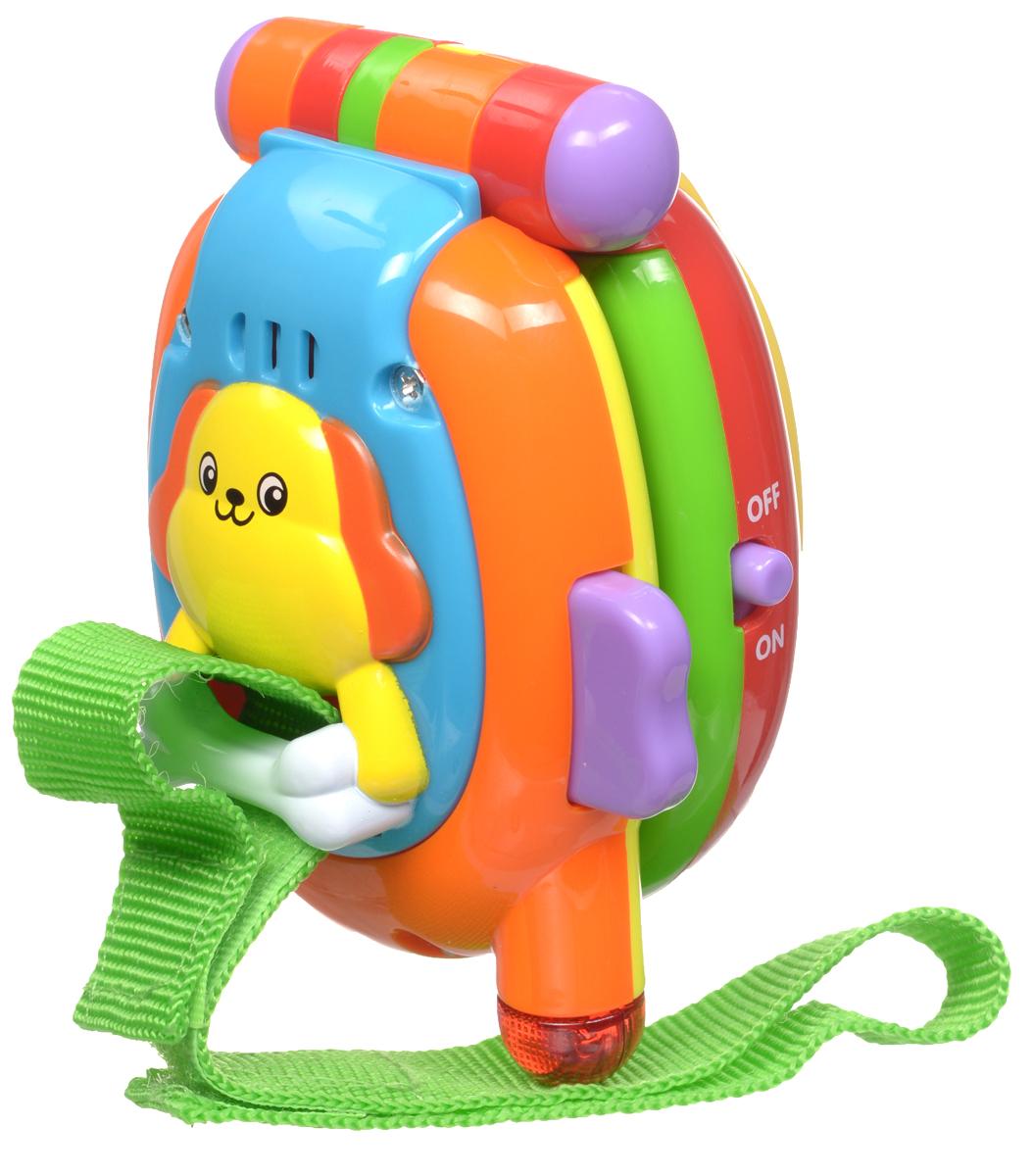 Малышарики Музыкальная игрушка Телефон цвет желтый зеленыйMSH0303-005_желтый, зеленыйМузыкальная игрушка Телефон со световыми и звуковыми эффектами обязательно порадует малыша. На поверхности телефона малыш обнаружит множество функциональных кнопочек и подвижную картинку, на которой изображены популярные мультгерои Малышарики. Выполненная в приятной цветовой гамме, игрушка имеет разнообразные интерактивные элементы, которые стимулируют развитие зрительного, слухового и тактильного восприятия ребенка. Необходимо докупить 2 батарейки напряжением 1,5V типа ААА (не входят в комплект).