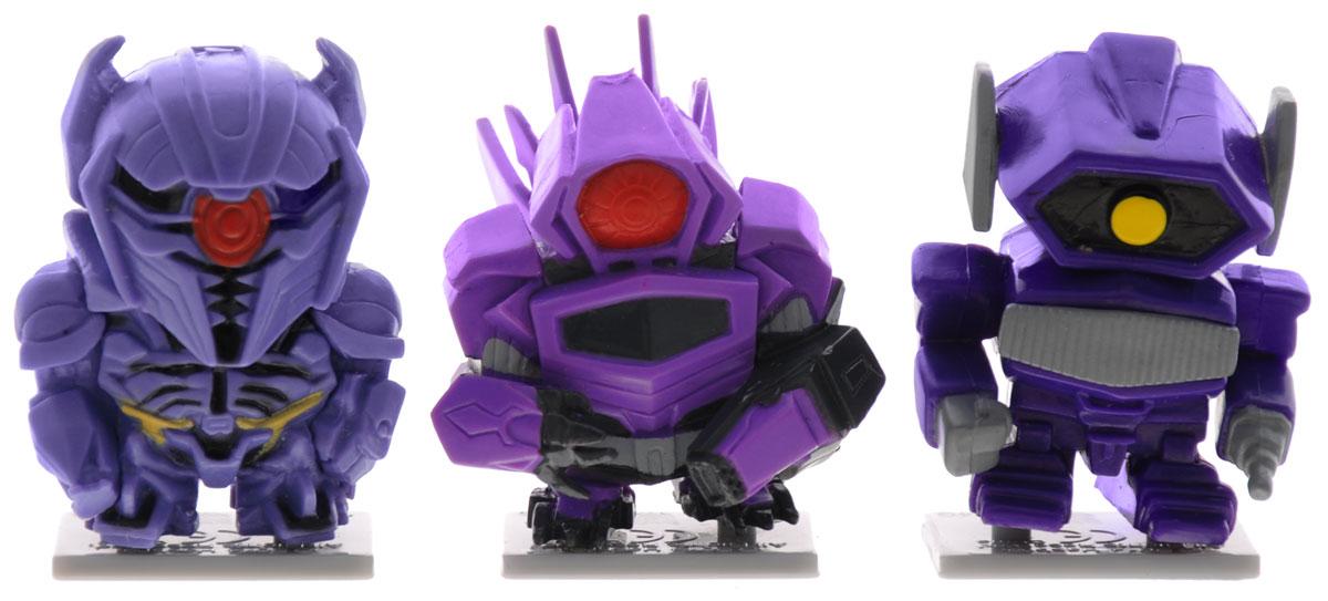 Transformers Набор коллекционных фигурок 3 шт цвет фиолетовый