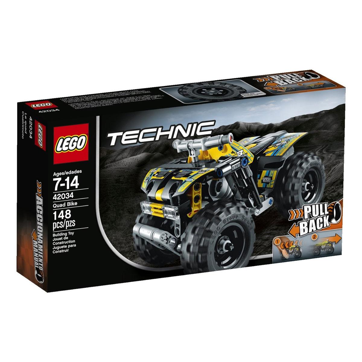 LEGO Technic Конструктор Квадроцикл 42034