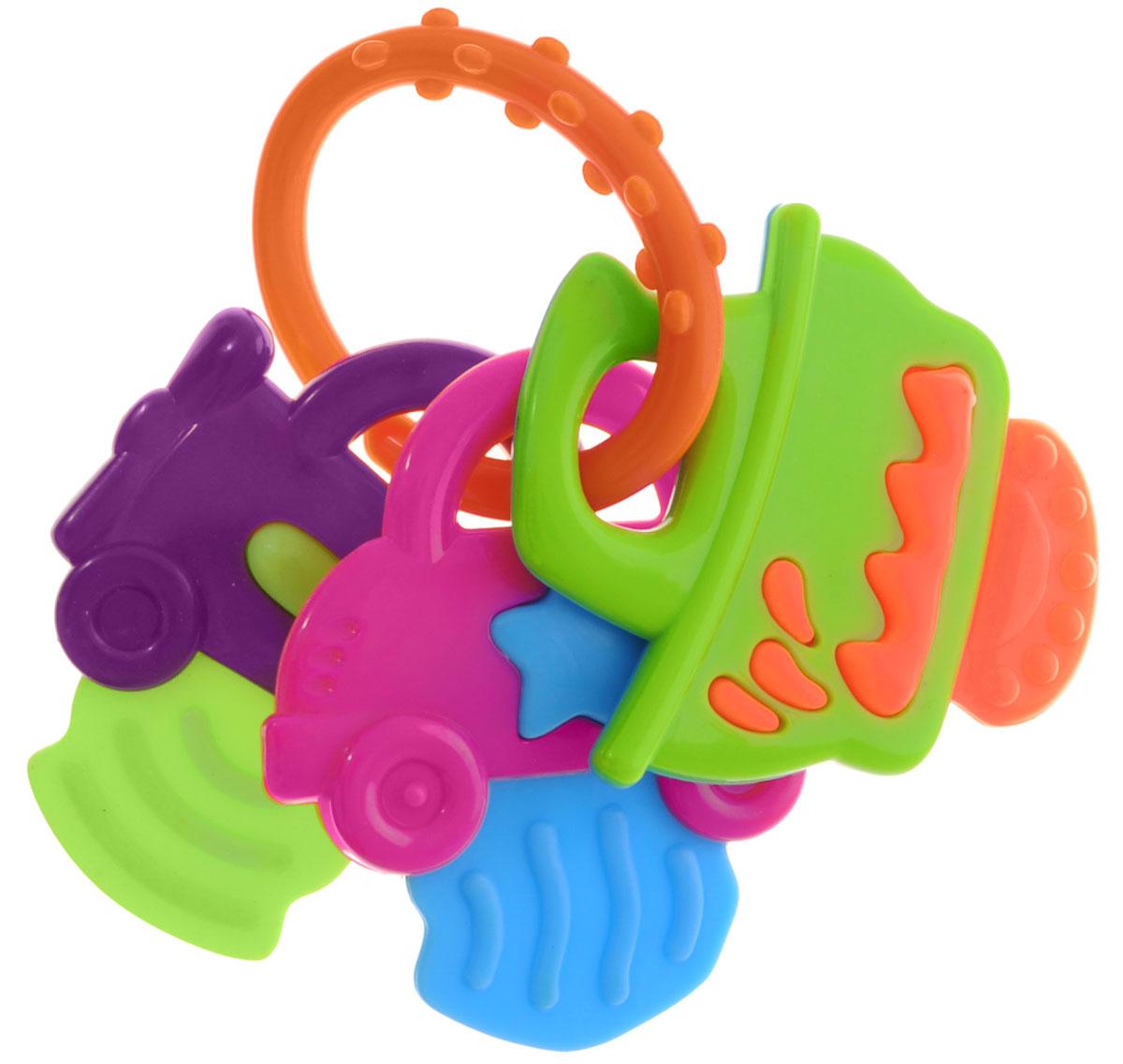 Mioshi Прорезыватель Машинки цвет оранжевыйTY9043_оранжевыйПрорезыватель Mioshi Машинки станет незаменимой игрушкой вашему малышу в первые месяцы и годы его жизни. Яркий, приятный на ощупь прорезыватель с тремя разными подвесками, станет любимой игрушкой вашей крохи с первых дней жизни. Дети в раннем возрасте всегда очень любознательны, они тщательно исследуют все, что попадает им в руки. Заботясь об их здоровье и безопасности, Mioshi выпускает только качественную продукцию, которая прошла сертификацию. Вместе с наборами Mioshi малютки развивают мелкую моторику рук, восприятие формы и цвета предметов, а также слух и зрение.