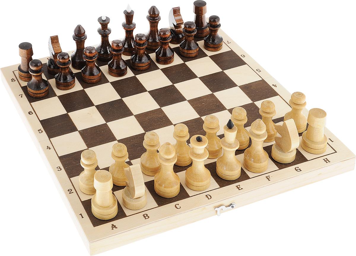 Настольная игра Шахматы средние, размер: 40х145х290 ммУТ-00000054