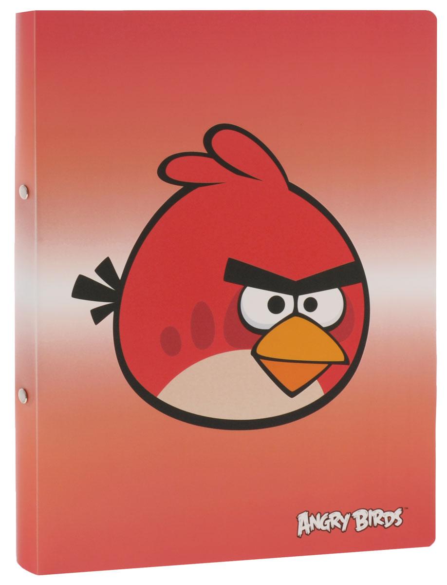 Centrum Папка на кольцах Angry Birds цвет красный84698_красныйПапка на кольцах Centrum Angry Birds предназначена для хранения и транспортировки бумаг или документов формата А4. Папка изготовлена из плотного пластика и оформлена изображением персонажа всеми любимой игры Angry Birds. Кольцевой механизм выполнен из высококачественного металла.