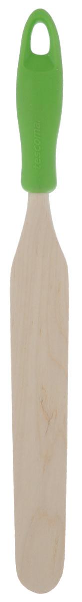 """Лопатка для растирания Tescoma """"Presto Wood"""", цвет: зеленый"""