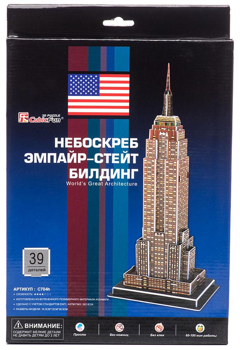 CubicFun 3D пазл Небоскреб Эмпайр-стейт-билдинг