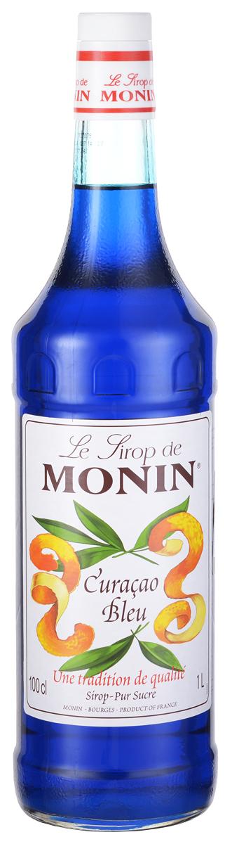 Monin Блю Курасао сироп, 1 л