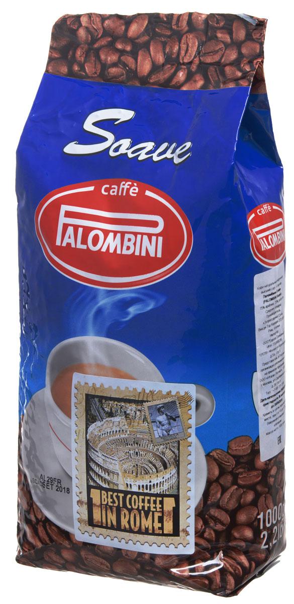 Palombini Soave кофе в зернах, 1 кг8009785305005_новый дизайнНатуральный жареный кофе высшего сорта Palombini Soave в зернах. Исключительный аромат и запоминающийся вкус. Рекомендуется для приготовления в домашних условиях. Состав смеси: 75% арабика, 25% робуста.
