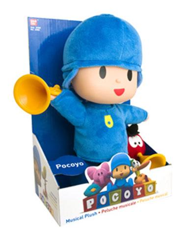 Pocoyo Мягкая кукла озвученная24730Милый и забавный Покойе вместе со своими друзьями будет рад стать другом любому малышу. В производстве игрушек использованы только экологически чистые материалы , безопасные для детей.