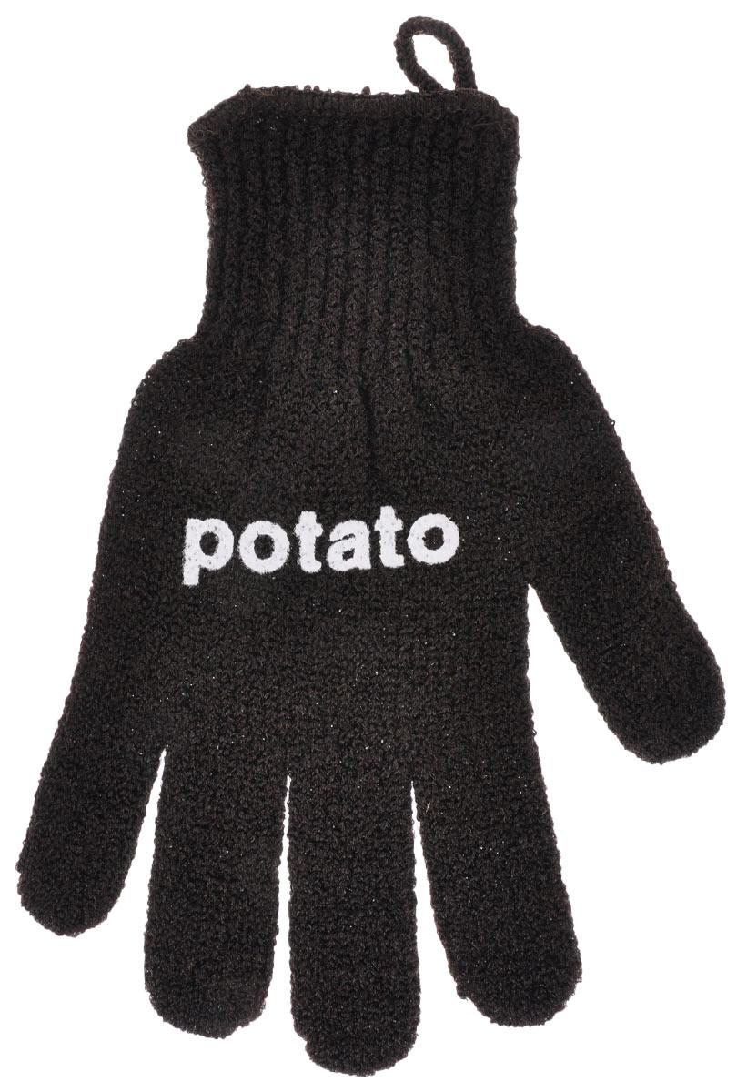 Перчатка для чистки овощей Youll love, цвет: темно-коричневый57420_темно-коричневыйПерчатка Youll love, выполненная из нейлона и спандекса, воздействует на овощи как терка. Быстро очистит молодой картофель, морковь, редис от грязи и кожуры. Безопаснее и быстрее ножа. Материал: 90% нейлон, 10% спандекс.