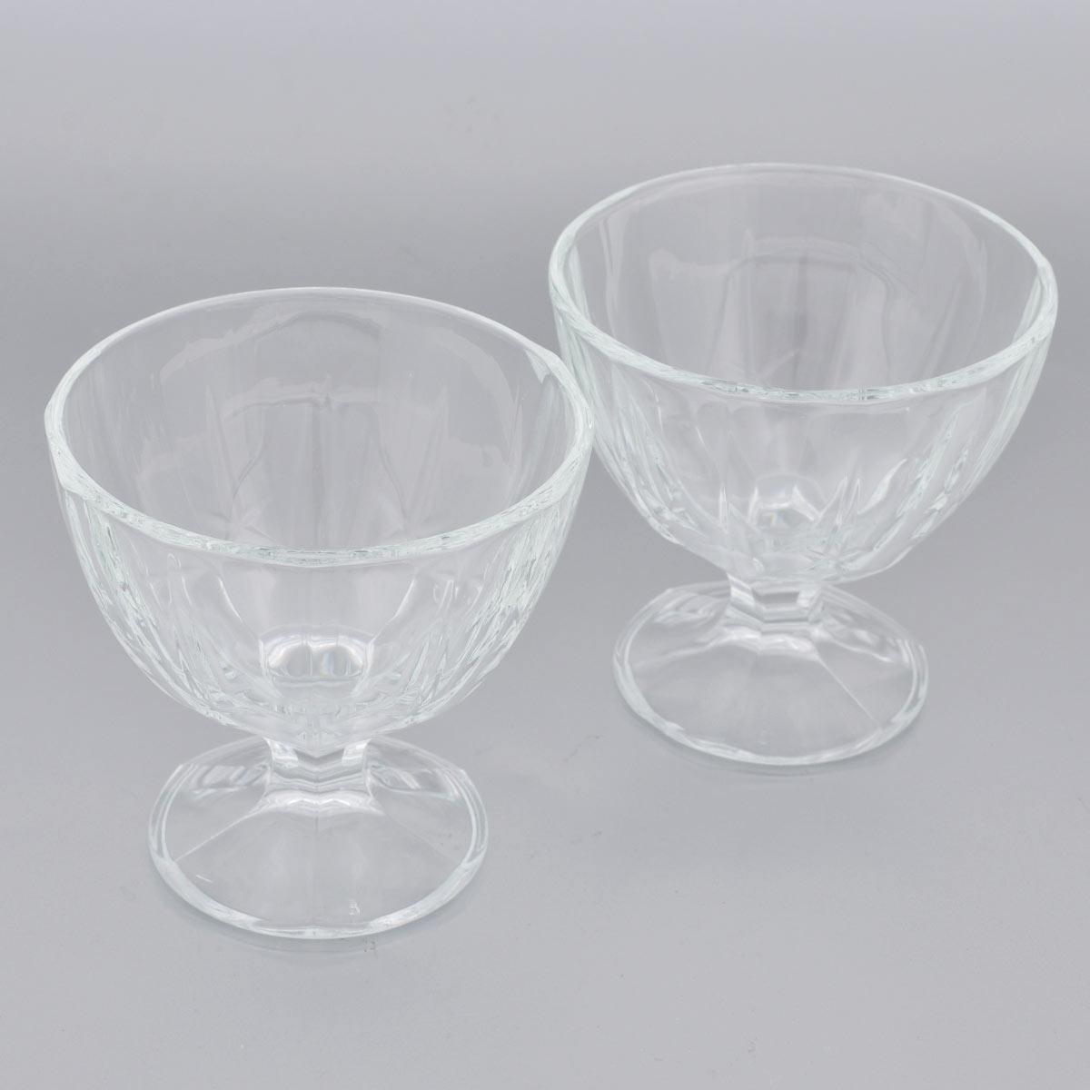 Набор креманок Luminarc Мальдивы, 300 мл, 2 штL1020Набор Luminarc Мальдивы состоит из 2 креманок, которые изготовлены из ударопрочного прозрачного стекла и декорированы рельефным рисунком. Набор выполнен в оригинальном элегантном дизайне. Изделия предназначены для красивой сервировки холодных напитков и блюд. Такой набор может стать отличным подарком к любому празднику. Диаметр креманки ( по верхнему краю): 10 см. Высота креманки: 10 см. Диаметр основания: 6,8 см.