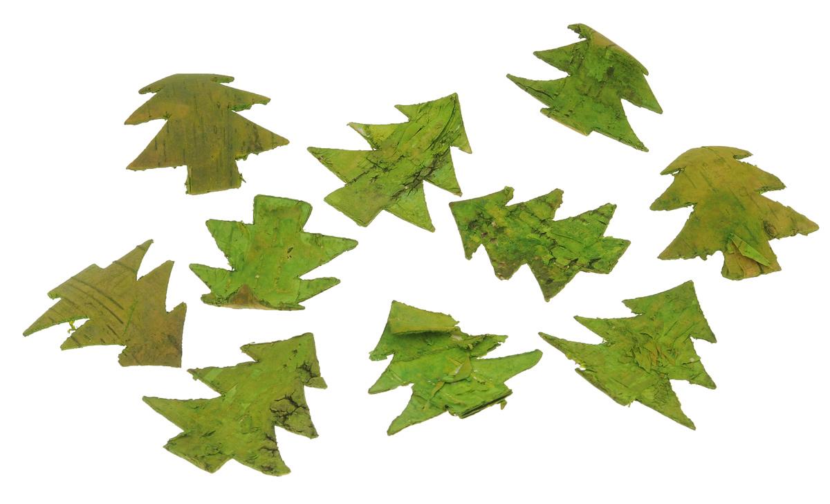 Декоративные элементы Dongjiang Art, цвет: зеленый, длина 7 см, 10 шт7709018_зеленыйДекоративные элементы Dongjiang Art представляют собой срезы березы и предназначены для украшения цветочных композиций. Такие элементы могут пригодиться во флористике и многом другом. Флористика - вид декоративно-прикладного искусства, который использует живые, засушенные или консервированные природные материалы для создания флористических работ. Это целый мир, в котором есть место и строгому математическому расчету, и вдохновению. Размер элемента: 7 см х 6 см х 0,2 см.