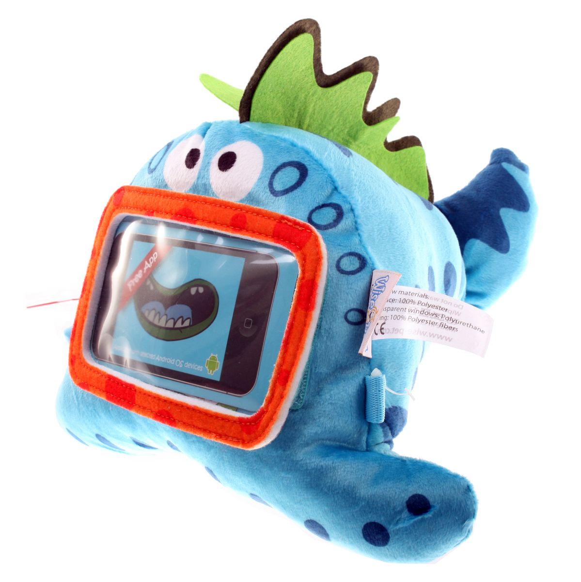 Wise Pet Мягкая игрушка Sealy с прозрачным карманом для смартфона900002Вы когда-нибудь вступали в контакт с инопланетянами? Нет? Тогда у Вас есть уникальная возможность это сделать! И знаете, с ними есть о чем поговорить, а главное, это очень весело, особенно для детей, которые с огромным удовольствием будут играть и общаться с этим симпатичным инопланетянином! Чтобы перевести его речь, Вам потребуется ваш iPhone и бесплатное приложение Wise Pet. Вставьте гаджет в прозрачный кармашек игрушке, запустите приложение и веселитесь вместе с детьми! Благодаря этому приложению, инопланетянин будет повторять все, что Вы или Ваш ребенок скажете ему, при этом шевеля мультяшным ртом, либо расскажет сказку, которую Вы можете записать самостоятельно. В приложении есть множество различных мордашек, которые можно менять. Когда инопланетянин повторяет сказанные фразы, он шевелит ртом. Наговорившись, этот инопланетянин с удовольствием покажет Вашему ребенку мультики или сыграет с ним в игры, которые припас для него. Эту игрушку можно также прикрепить к спинке...