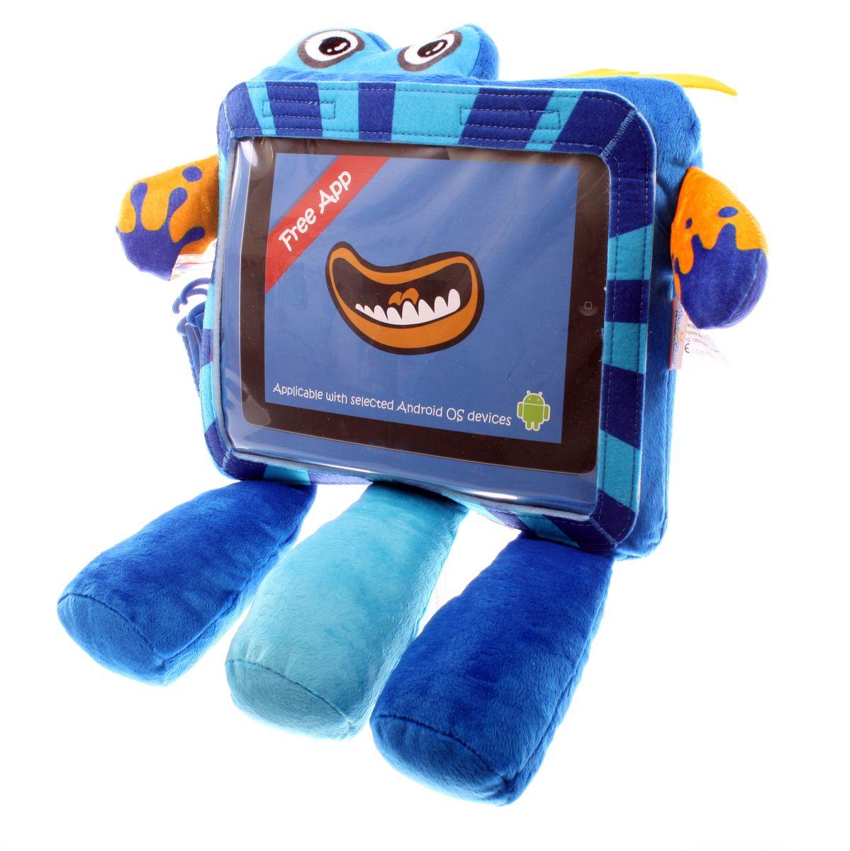 Wise Pet Мягкая игрушка Splashy с прозрачным карманом для планшета900004Вы когда-нибудь вступали в контакт с инопланетянами? Нет? Тогда у Вас есть уникальная возможность это сделать! И знаете, с ними есть о чем поговорить, а главное, это очень весело, особенно для детей, которые с огромным удовольствием будут играть и общаться с этим симпатичным инопланетянином! Чтобы перевести его речь, Вам потребуется ваш iPhone и бесплатное приложение Wise Pet. Вставьте гаджет в прозрачный кармашек игрушке, запустите приложение и веселитесь вместе с детьми! Благодаря этому приложению, инопланетянин будет повторять все, что Вы или Ваш ребенок скажете ему, при этом шевеля мультяшным ртом, либо расскажет сказку, которую Вы можете записать самостоятельно. В приложении есть множество различных мордашек, которые можно менять. Когда инопланетянин повторяет сказанные фразы, он шевелит ртом. Наговорившись, этот инопланетянин с удовольствием покажет Вашему ребенку мультики или сыграет с ним в игры, которые припас для него. Эту игрушку можно также прикрепить к спинке...