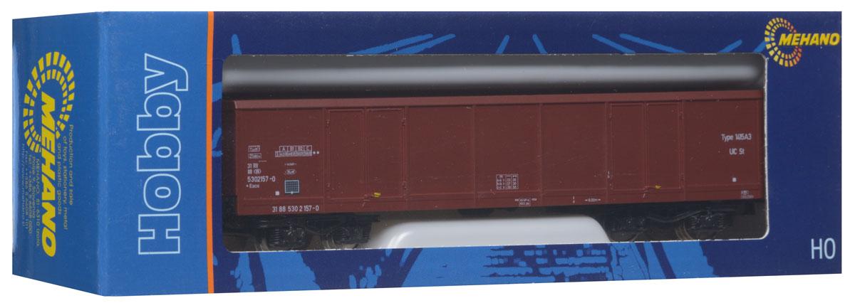 Mehano Грузовой вагон EAOS-106 530T630Грузовой вагон Mehano EAOS-106 530 2 157-1 выполнен на высочайшем уровне с мелкими деталями и в точной раскраске железной дороги определенного периода времени. Корпус модели бункерного вагона выполнен из пластика, колеса выполнены из металла. Модель высоко детализирована и окрашена в соответствии со своим реальным прототипом. Вагон имеет два пластиковых крепления, благодаря которым вы сможете соединить вагончики в железнодорожный состав. Коллекционная модель станет не только интересной игрушкой для ребенка, интересующегося поездами, но и займет достойное место в любой коллекции. Модель совместима с железными дорогами и поездами Mehano. Оставаясь одной из наиболее желанных игрушек для большинства мальчишек и даже взрослых коллекционеров, железная дорога Mehano с дистанционным управлением неподвластна влиянию моды и времени. Для сторонников технологических новинок создаются модели современных скоростных составов, а ценители истории могут выбрать подходящий комплект, в...