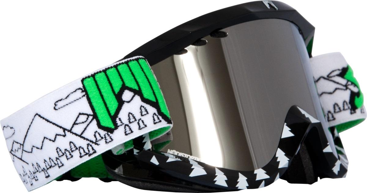 Маска горнолыжная / сноубордическая SHRED SOAZA, цвет: черный, белый
