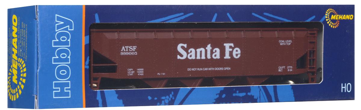 Mehano Саморазгружающийся бункерный грузовой вагон Santa FeT063Саморазгружающийся бункерный грузовой вагон Mehano Santa Fe выполнен на высочайшем уровне с мелкими деталями и в точной раскраске железной дороги определенного периода времени. Корпус модели бункерного вагона выполнен из пластика, колеса выполнены из металла. Модель высоко детализирована и окрашена в соответствии со своим реальным прототипом. Вагон имеет два пластиковых крепления, благодаря которым вы сможете соединить вагончики в железнодорожный состав. Коллекционная модель станет не только интересной игрушкой для ребенка, интересующегося поездами, но и займет достойное место в любой коллекции. Модель совместима с железными дорогами и поездами Mehano. Оставаясь одной из наиболее желанных игрушек для большинства мальчишек и даже взрослых коллекционеров, железная дорога Mehano с дистанционным управлением неподвластна влиянию моды и времени. Для сторонников технологических новинок создаются модели современных скоростных составов, а ценители истории могут выбрать...