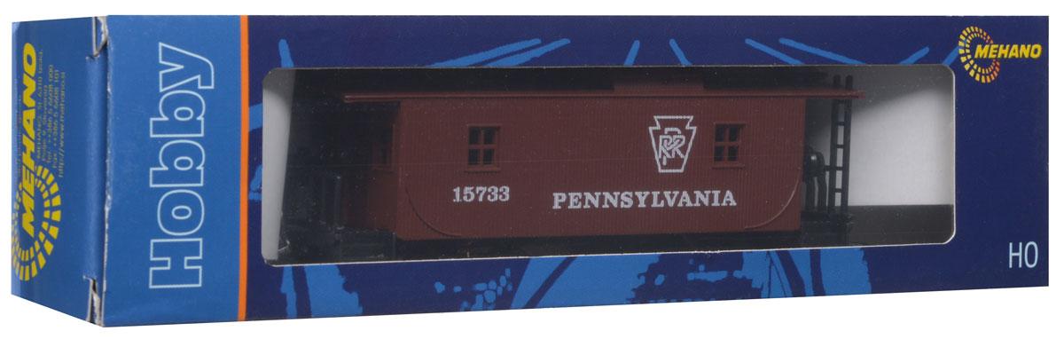 Mehano Вагон-камбуз PennsylvaniaT076Тормозной вагон Mehano Pennsylvania выполнен на высочайшем уровне с мелкими деталями и в точной раскраске железной дороги определенного периода времени. Тормозной вагон (бригадник) - служебный вагон в товарном поезде. В нем перевозили служебный персонал и инвентарь. Модель высоко детализирована и окрашена в соответствии со своим реальным прототипом. Корпус модели служебного вагона-камбуза для товарного поезда выполнен из пластика, колеса выполнены из металла. Вагон имеет два пластиковых крепления, благодаря которым можно соединить вагончики в железнодорожный состав. Модель совместима с железными дорогами и поездами Mehano. Наряду с уникальными локомотивами железнодорожные подвижные платформы и вагоны также являются важной частью состава и, в зависимости от спецификации, поражают своей конструкцией или функциональными возможностями. Каждая модель полностью соответствует реальному дизайну оригинала и до мельчайших деталей отражает инженерные возможности, что...