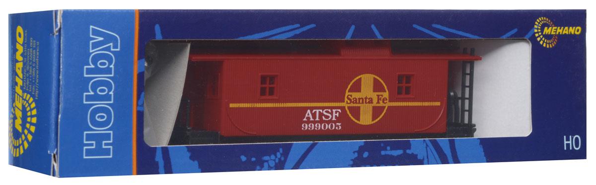 Mehano Вагон-камбуз Santa FeT076Тормозной вагон Mehano Santa Fe понравится как ребенку, так взрослому коллекционеру и приятно удивит высочайшим качеством исполнения. Тормозной вагон (бригадник) - служебный вагон в товарном поезде. В нем перевозили служебный персонал и инвентарь. Модель высоко детализирована и окрашена в соответствии со своим реальным прототипом. Корпус модели служебного вагона-камбуза для товарного поезда выполнен из пластика, колеса выполнены из металла. Вагон имеет два пластиковых крепления, благодаря которым можно соединить вагончики в железнодорожный состав. Модель совместима с железными дорогами и поездами Mehano. Наряду с уникальными локомотивами железнодорожные подвижные платформы и вагоны также являются важной частью состава и, в зависимости от спецификации, поражают своей конструкцией или функциональными возможностями. Каждая модель полностью соответствует реальному дизайну оригинала и до мельчайших деталей отражает инженерные возможности, что не только делает...