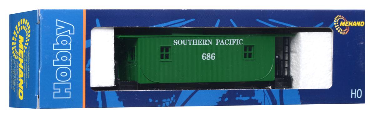 Mehano Вагон-камбуз Southern PacificT076Тормозной вагон Mehano Southern Pacific понравится не только ребенку, но и взрослому коллекционеру и приятно удивит вас высочайшим качеством исполнения. Тормозной вагон (бригадник) - служебный вагон в товарном поезде. В нем перевозили служебный персонал и инвентарь. Модель высоко детализирована и окрашена в соответствии со своим реальным прототипом. Корпус модели служебного вагона-камбуза для товарного поезда выполнен из пластика, колеса выполнены из металла. Вагон имеет два пластиковых крепления, благодаря которым вы сможете соединить вагончики в железнодорожный состав. Модель станет не только интересной игрушкой для ребенка, интересующегося поездами, но и займет достойное место в любой коллекции. Модель совместима с железными дорогами и поездами Mehano. Оставаясь одной из наиболее желанных игрушек для большинства мальчишек и даже взрослых коллекционеров, железная дорога Mehano с дистанционным управлением неподвластна влиянию моды и времени. Для сторонников...