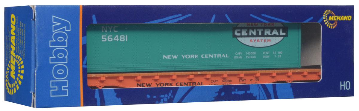 Mehano Вагон-платформа NYCT115Вагон-платформа со съемным контейнером NYC выполнен на высочайшем уровне с мелкими деталями и в точной раскраске железной дороги определенного периода времени. Корпус модели бункерного вагона выполнен из пластика, колеса выполнены из металла. Модель высоко детализирована и окрашена в соответствии со своим реальным прототипом. Вагон имеет два пластиковых крепления, благодаря которым вы сможете соединить вагончики в железнодорожный состав. Коллекционная модель станет не только интересной игрушкой для ребенка, интересующегося поездами, но и займет достойное место в любой коллекции. Модель совместима с железными дорогами и поездами Mehano. Оставаясь одной из наиболее желанных игрушек для большинства мальчишек и даже взрослых коллекционеров, железная дорога Mehano с дистанционным управлением неподвластна влиянию моды и времени. Для сторонников технологических новинок создаются модели современных скоростных составов, а ценители истории могут выбрать подходящий комплект,...