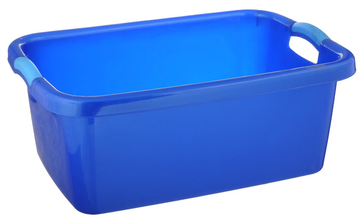 Таз Dunya Plastik Симпатия, цвет: синий, голубой, 27 л05501_синийПрямоугольный таз Dunya Plastik Симпатия выполнен из прочного пластика. Он предназначен для стирки и хранения разных вещей. По бокам имеются удобные ручки, которые обеспечивают надежный захват. Таз пригодится в любом хозяйстве.