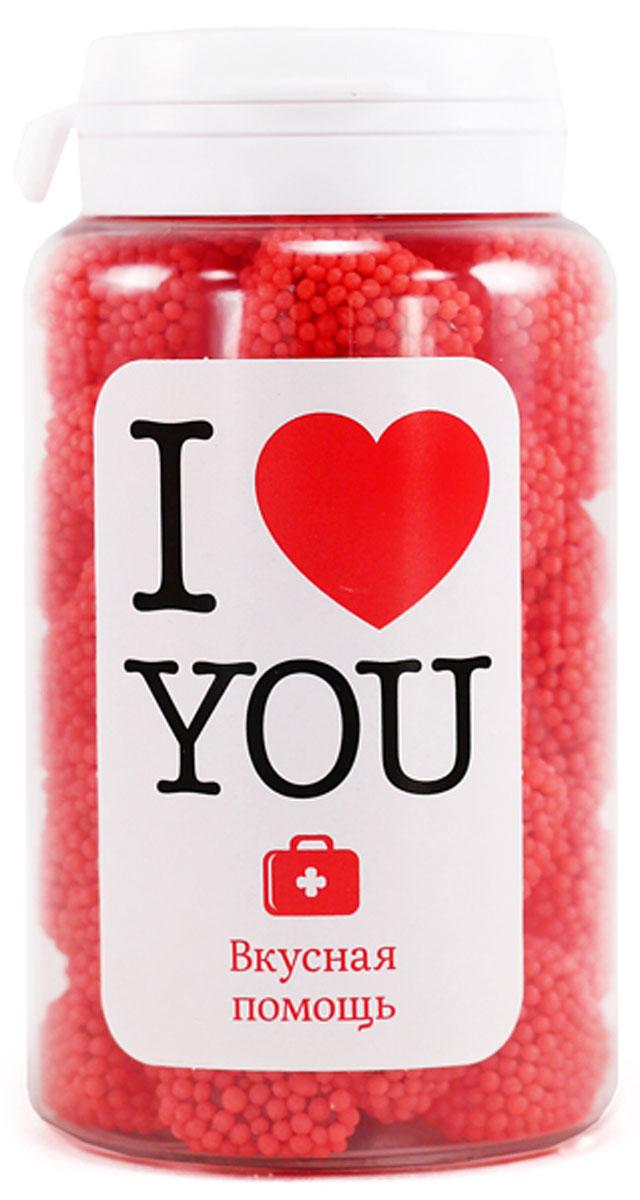 Конфеты Вкусная помощь Я тебя люблю,150 г конфеты вкусная помощь я тебя люблю 150 г