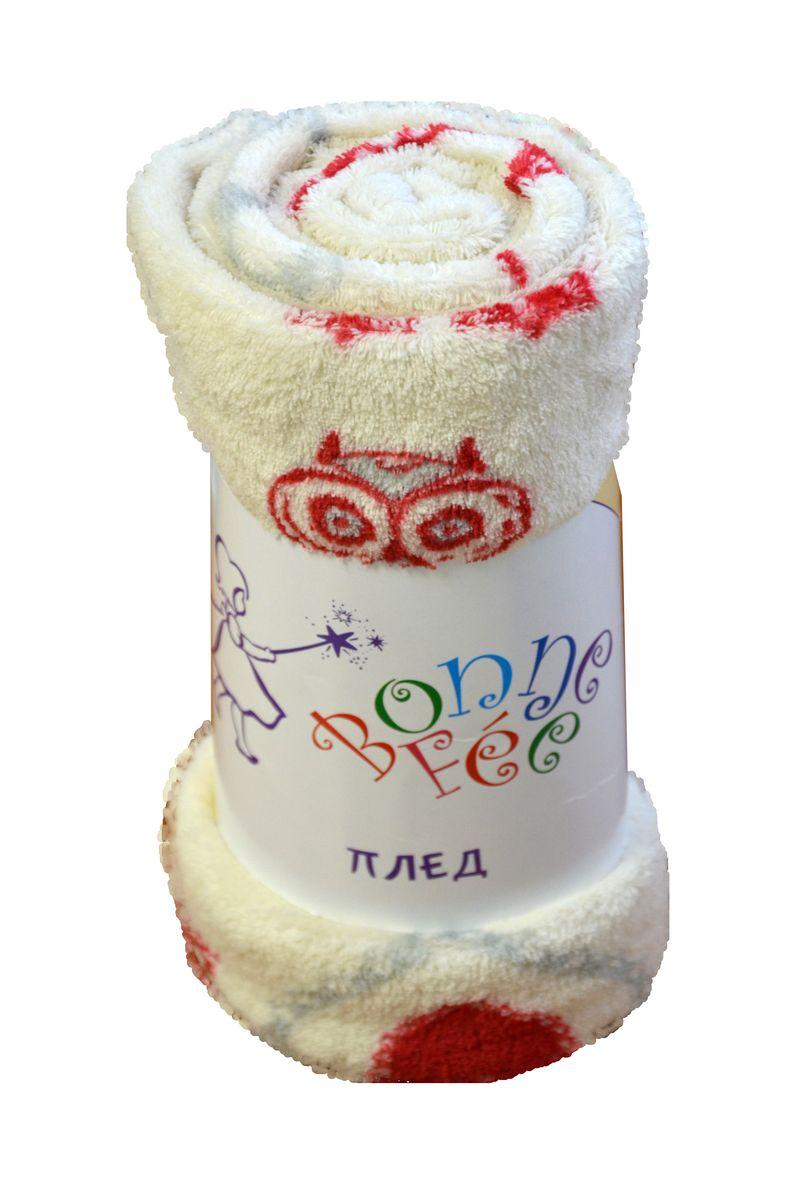 Плед плюшевый Сова, цвет белый, 95 х 65 смОПК-95*65/СБМягкий и приятный на ощупь плед Совы согреет в прохладные вечера и сделает ваш дом праздничным и новогодним. Дизайн жизнерадостный, зимний, будет способствовать хорошему настроению! Наслаждайтесь комфортом и уютом с пледом Совы и пусть в вашем доме будет тепло!