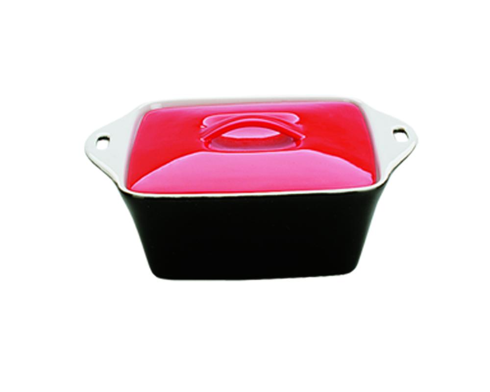 Керамическая кастрюля Dekok с крышкой 0,6лHR-1063Для приготовления блюд в духовке, мкроволновой печи, для хранения в холодильнике и морозильной камере. Устойчива к температурам от -20 до +210 С. В комплекте крышка.