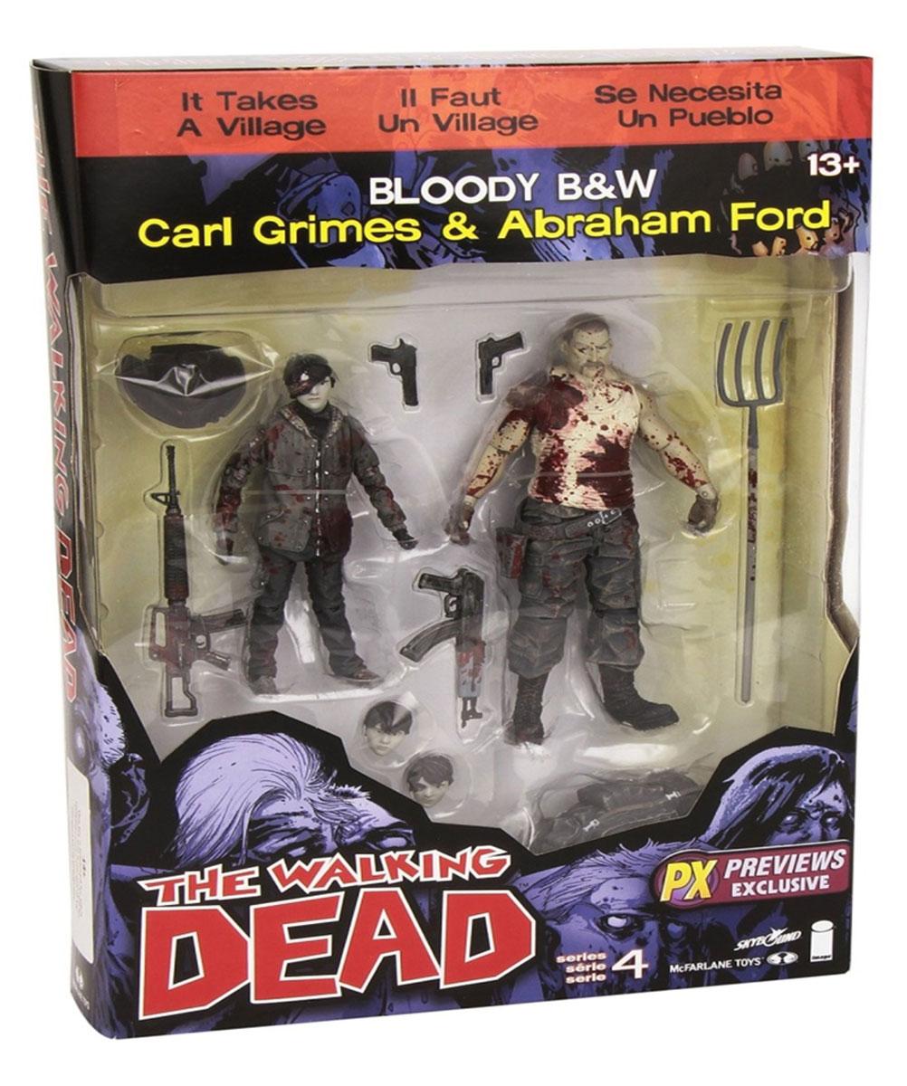 Walking Dead. Набор фигурок Carl/Abraham the walking dead инстинкт выживания