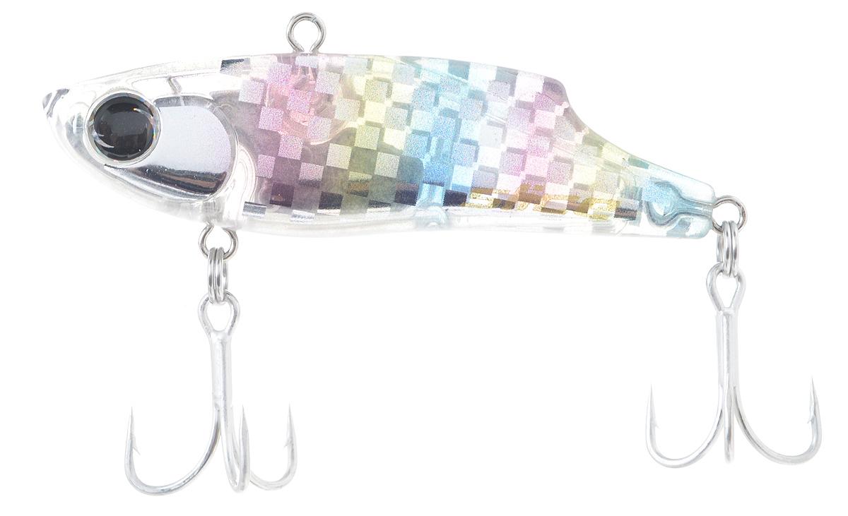 Воблер Maria Slice, тонущий, цвет: прозрачный, голубой, розовый, 5,5 см, 10 г51398Раттлин Maria Slice подойдет для ловли щуки, окуня, судака и форели. Отличная приманка для джиговой ловли летом и для зимней рыбалки. Частые колебания приманки прекрасно привлекают хищника с большого расстояния. Воблер выполнен из металла и пластика и оснащен тройниками Owner.