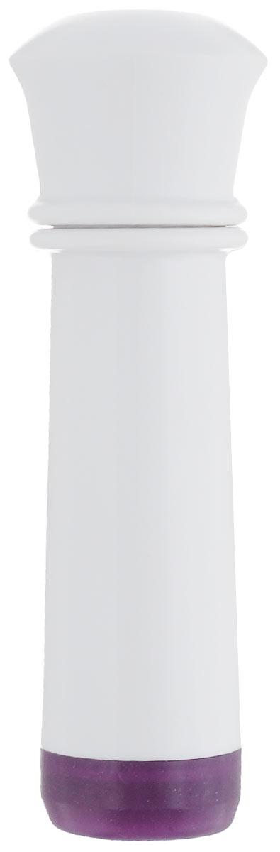 Насос вакуумный для контейнеров Microban, цвет: белый, фиолетовыйVS2R-0_белый, фиолетовыйВакуумный насос Microban, изготовленный из высококачественного пластика с прорезиненными вставками, станет не заменимым помощником на вашей кухне. С помощью такого насоса одним простым движением можно быстро выкачать воздух из контейнера. Это обеспечит герметичность и дольше сохранит продукты свежими.