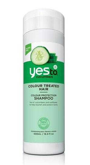 Yes to Шампунь Cucumbers, для окрашенных и поврежденных волос, 500 мл3211005,3215102Шампунь для волос Yes To Cucumbers предназначен для ухода за окрашенными и поврежденными волосами. Входящий в состав шампуня экстракт василька, содержащий мощный антиоксидант, защищает и сохраняет цвет волос, придает им блеск. Также в состав шампуня входят 26 минералов Мертвого моря, которые восстанавливают силу и увлажненность каждого локона. Шампунь Cucumbers эффективно удаляет загрязнения и токсины, защищает и сохраняет цвет волос, придавая им блеск и свежесть. Не содержит парабены, продукты нефтепереработки, содиум лаурил сульфат. Товар сертифицирован.