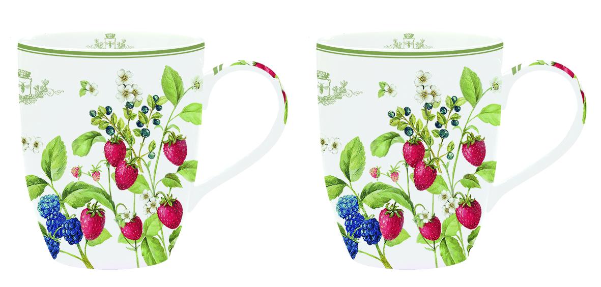 Набор кружек Nuova R2S Лесные ягоды, 350 мл, 2 шт979BERRНабор Nuova R2S Лесные ягоды состоит из двух кружек, выполненных из высококачественного фарфора. Изделия декорированы красочным изображением ягод и имеют изысканный внешний вид. Этот необычный набор станет великолепным подарком для каждого и, несомненно, вызовет восхищение. Набор Nuova R2S Лесные ягоды красиво оформит стол к чаепитию. Объем кружек: 350 мл. Диаметр кружек (по верхнему краю): 8,5 см. Высота кружек: 10,5 см.