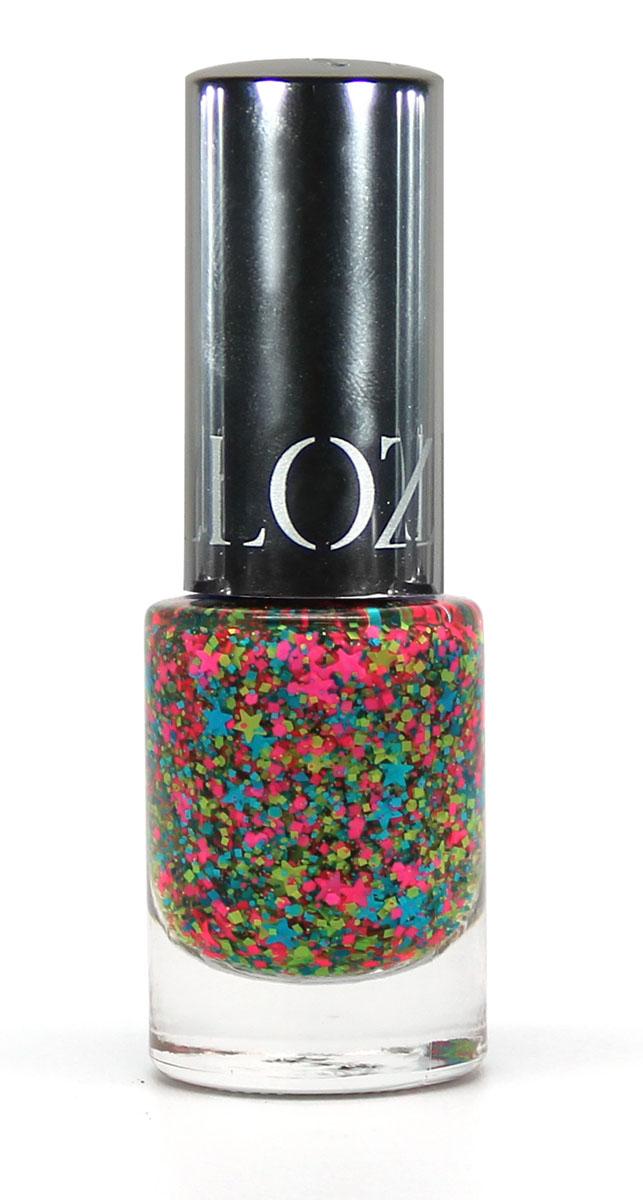 Yllozure Лак для ногтей GLAMOUR KARNIVAL, тон 50, 12 мл6150Лак Карнавал в яркой основе содержит мелкий белый и черный шиммер, а также блестящие и светопоглощающие глиттеры вытянутой игольчатой, фигурной формы. Выглядят на ногтях очень выразительно, оригинально и празднично! Лаки для ногтей этой серии сочетают в палитре нежные пастельные оттенки и яркие, разноцветные глиттеры. Они очень хорошо ложатся, и наносить их можно в несколько слоев, что создает на ногтях оригинальный маникюр с необычной фактурной поверхностью.