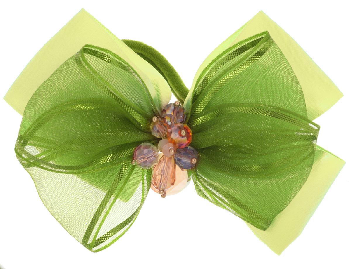 Baby's Joy Резинка для волос цвет зеленый желтый MN 12
