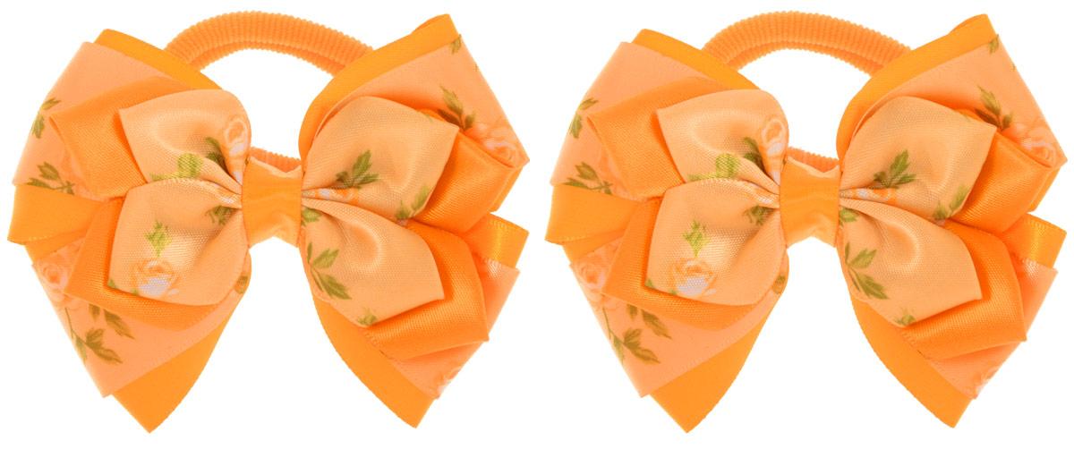 Baby's Joy Резинка для волос цвет оранжевый 2 шт MN 143/2