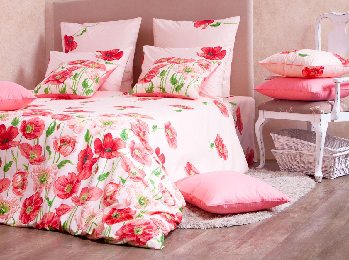 Комплект белья Mirarossi Carolina, 1,5-спальный, наволочки 50х70, цвет: розовый, красный, зеленый15п-2MRКомплект постельного белья Mirarossi Carolina, изготовленный из перкаля (100% хлопка), оформлен изящным цветочным принтом. Ткань приятная на ощупь, при этом она прочная, сохраняет яркость красок и первозданную красоту даже после многократных стирок. Комплект состоит из простыни, пододеяльника и двух наволочек. Теплое и нежное постельное белье Mirarossi Carolina создаст неповторимую атмосферу в вашей спальне. Плотность ткани: 135 г/м2.