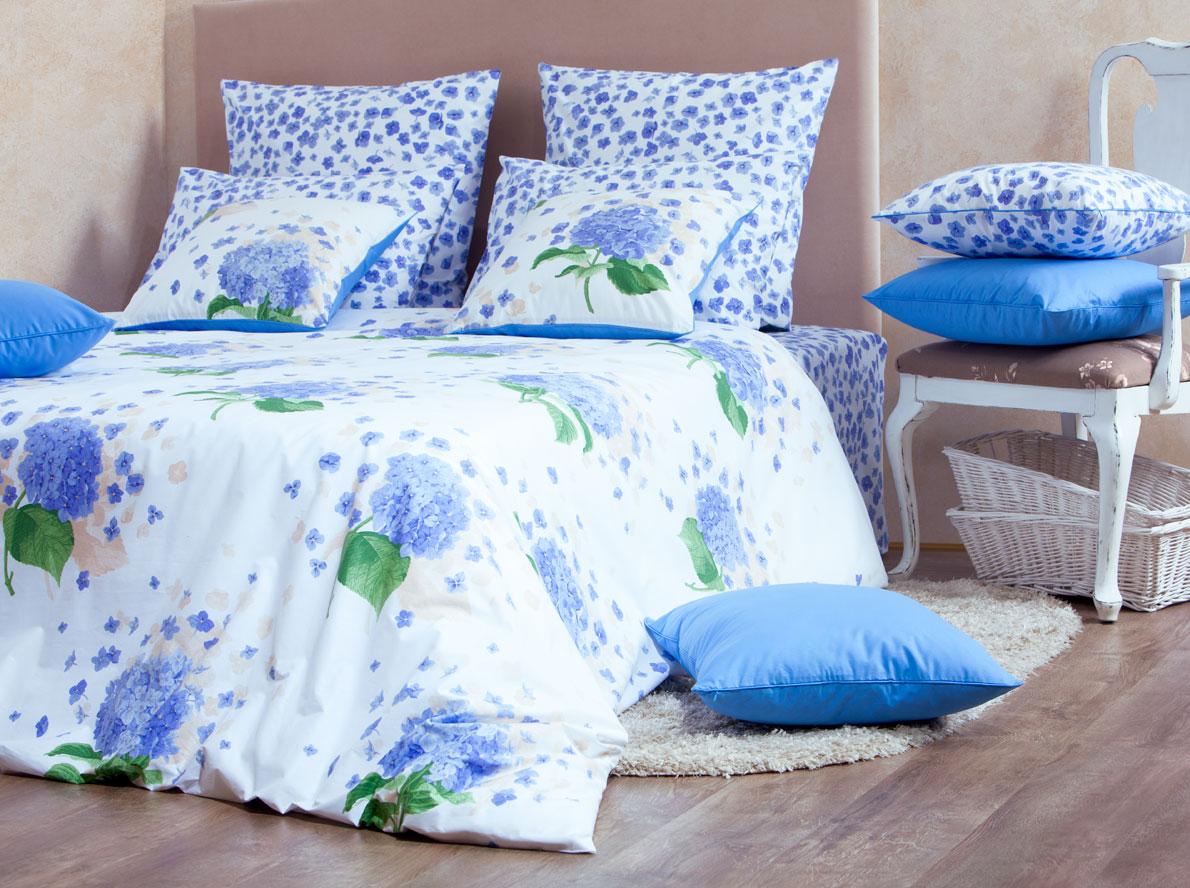 Постельное белье MIRAROSSI (1, 5 спальное;Перкаль;Virginia blue)