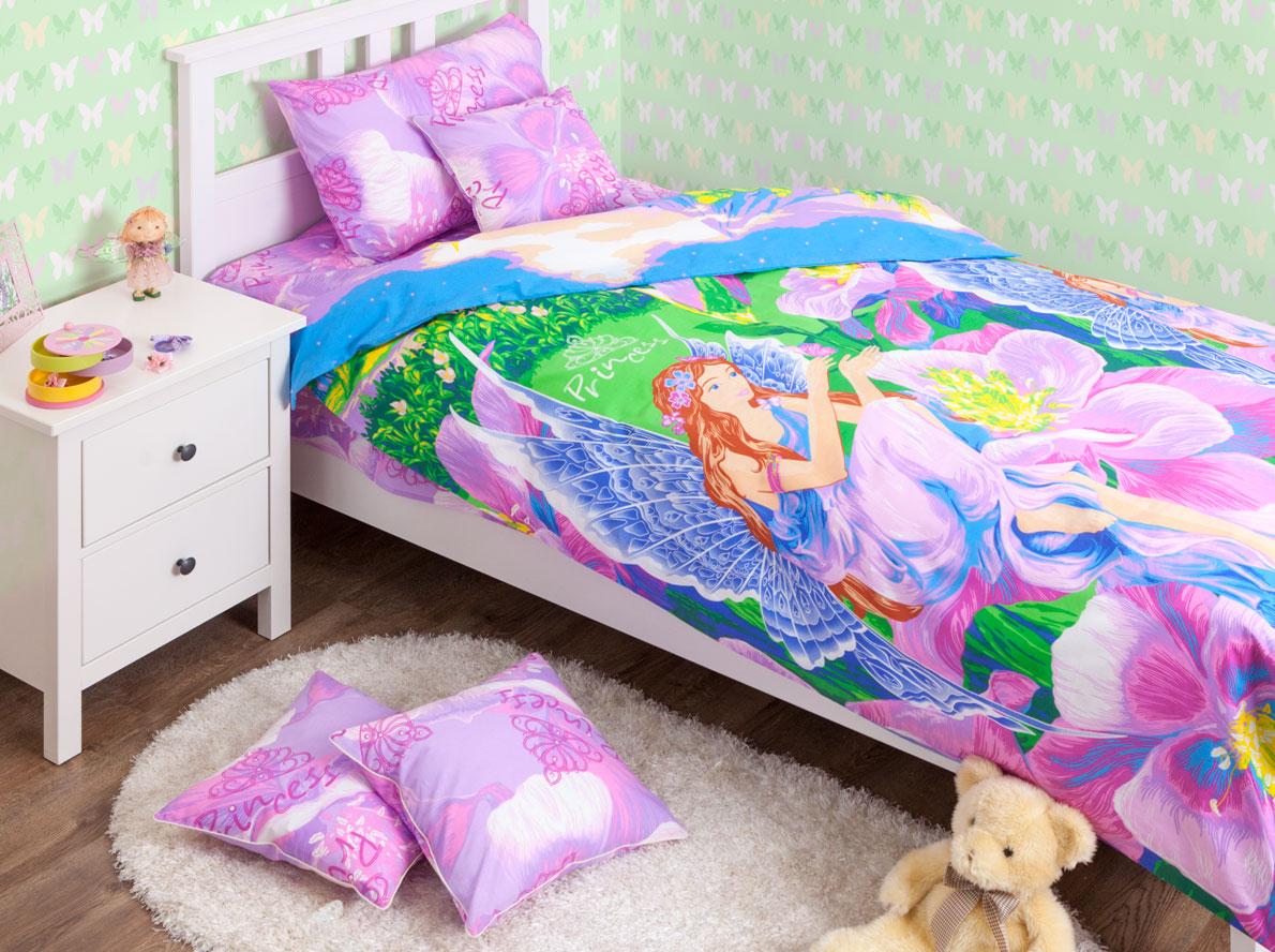 Хлопковый Край Комплект детского постельного белья Фея 1,5-спальный пододеяльник 200 см х 150 см