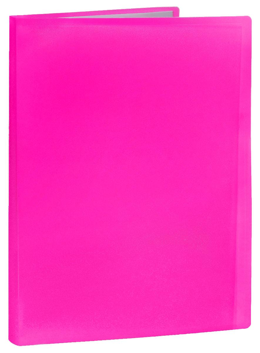 Erich Krause Папка с файлами 40 листов цвет розовый31017_розовыйПапка Erich Krause содержит 40 прозрачных файлов-вкладышей. Она идеально подходит для хранения рабочих бумаг и документов формата А4 без перфорации, требующих упорядоченности и наглядного обзора: отчетов, презентаций, коммерческих и персональных портфолио. Папка выполнена из прочного пластика с гофрированной поверхностью в ярком цвете. Благодаря совершенной технологии производства папка не подвергается воздействию низкой температуры, не деформируется и не ломается при изгибе и транспортировке.