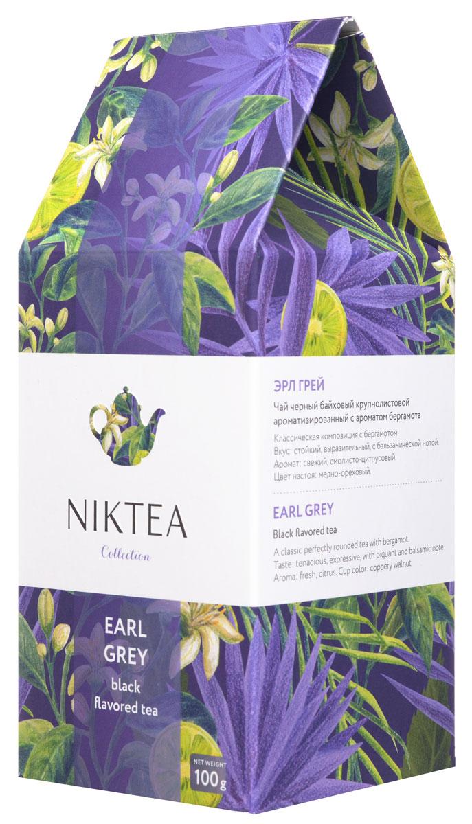 Niktea Earl Grey черный ароматизированный чай, 100 гTALTHA-L00002Niktea Earl Grey - классическая композиция с бергамотом. Отличается свежим смолисто-цитрусовыми нотами и стойким, выразительным вкусом с пряно-бальзамической нотой. Коллекция NikTea разработана командой экспертов, имеющих богатый опыт в чайной индустрии. Во время ее создания выбирались самые надежные поставщики из Европы и стран происхождения чая, а в линейку включили не только топовые аутентичные позиции, но и новые интересные рецептуры в традициях современной чайной миксологии. NikTea - это действительно качественный чай. Для истинных ценителей мы предлагаем безупречное качество: отборное сырье, фасовку на высокотехнологичном производственном комплексе в России, постоянный педантичный контроль готового продукта, а также сертификацию сырья по международным стандартам. NikTea - это разнообразие. В линейках листового и пакетированного чая представлены все основные группы вкусов - от классического черного и зеленого чая до...