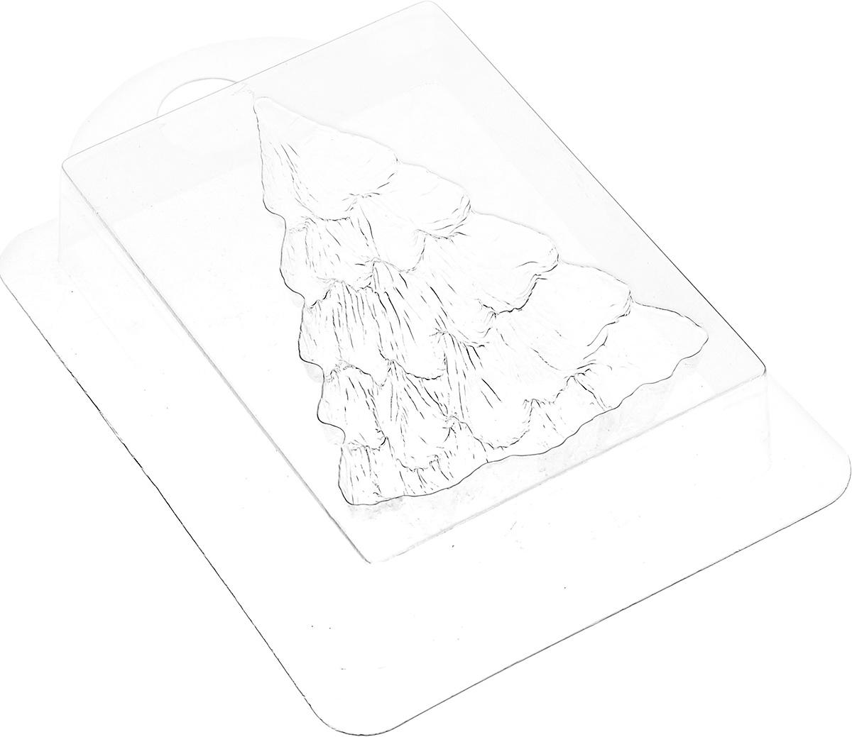 Форма для литья Выдумщики Ель пушистая, 16 х 10,8 х 3 см2700770022179Форма для литья Выдумщики Ель пушистая изготовлена из прозрачного пластика. Изготовленное в такой форме мыло получит забавный, оригинальный дизайн. При помощи такой прозрачной формы для литья можно самостоятельно изготовить домашнее мыло, шоколад или оригинальную свечу для украшения праздничного стола и интерьера. Размер готового мыла: 10 см х 7 см х 2,5 см. Вес готового мыла, выполненного из мыльной основы: 90 г.