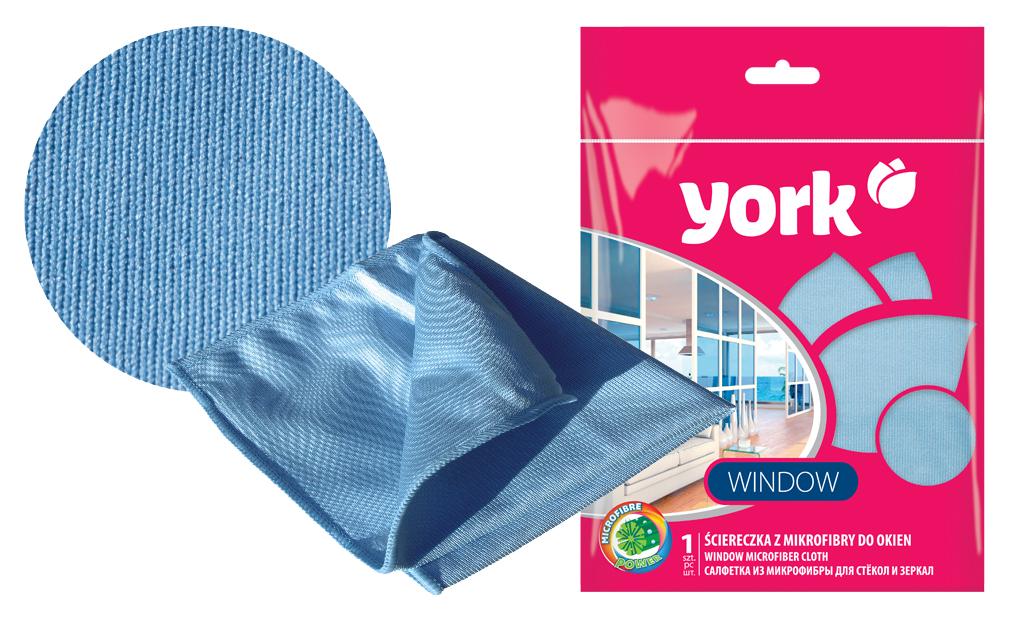 Салфетка York, для стёкол и зеркал, 30 х 30 см2615Салфетка York выполнена из микрофибры и имеет две стороны: для мытья и полировки. Микрофибра - уникальный, прочный, новаторский, гипоаллергенный материал. Сложная структура волокна состоит из двух синтетических волокон: полиэстера и полиамида. Особая структура волокон позволяет буквально втягивать все виды частиц пыли внутрь волокна, надёжно удерживая её. Микрофибра устраняет микробы и бактерии с поверхности. Салфетка бережно и эффективно очистит деликатные поверхности, такие как оптика, зеркала и стёкла. без применения моющих средств. Не оставляет царапин, ворсинок и разводов.