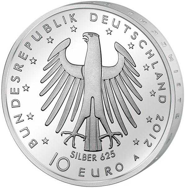 Монета номиналом 10 евро