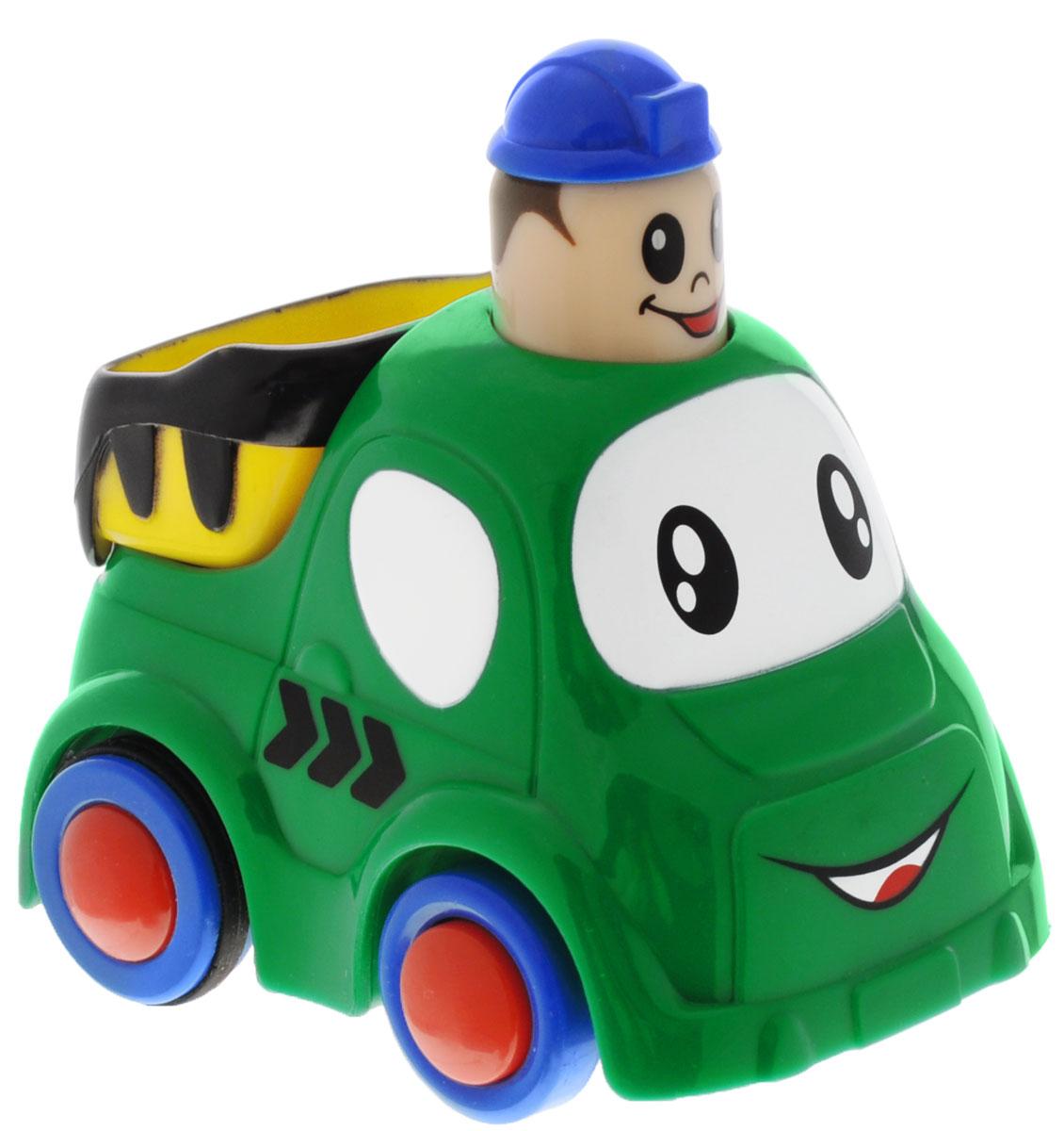 Simba Инерционная Мини-машинка цвет зеленый4019516_зеленыйМини машинка 9 см
