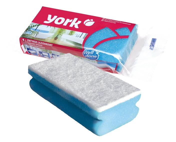 Губка для уборки York, 13 см х 6 см х 4 см3008Губка для уборки York обладает высокой очищающей способностью. Эффективно устраняет жир, известковый налет, накипь, застарелую грязь, пригоревшие остатки пищи, следы от краски и прочие сложные загрязнения. Губка не оставляет следов, разводов и царапин. Профилированная форма облегчает ее использование.