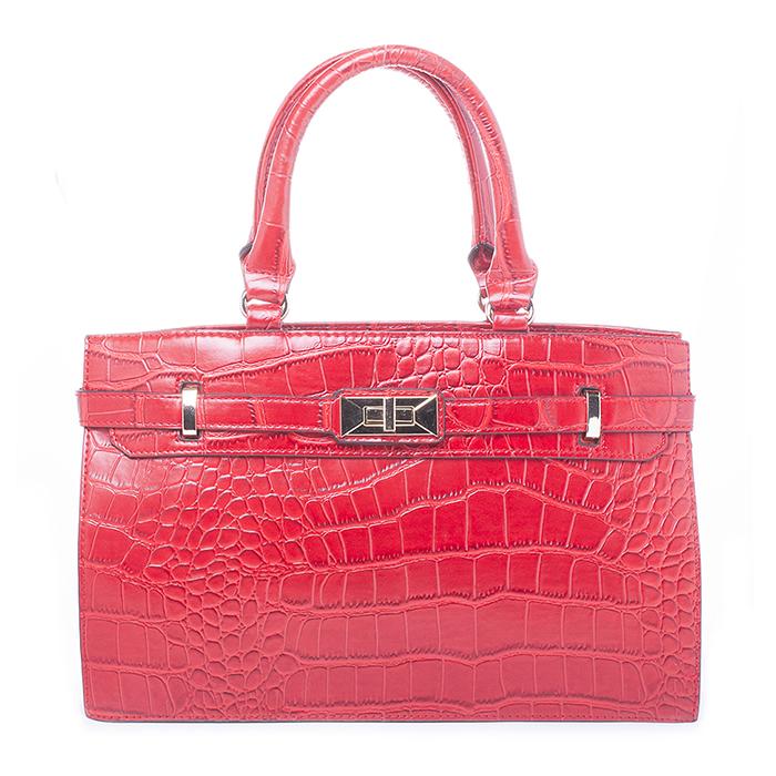 Сумка BAGGINI женская, цвет: красный. RF006-09RF006-09Сумка жен. ,иск. кожа