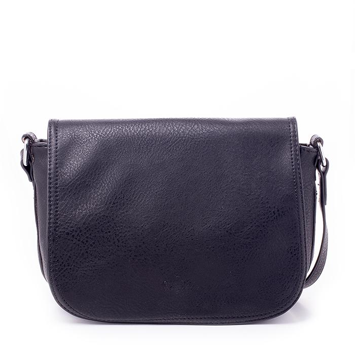 Сумка женская Renee Kler, цвет: черный. RK403-01RK403-01Великолепная женская сумка Renee Kler выполнена из искусственной кожи с фактурным тиснением. Изделие имеет одно основное отделение, разделенное пополам карманом-средником на застежке-молнии. Закрывается сумка на застежку-молнию и дополнительно на клапан с магнитной кнопкой. Внутри имеется прорезной карман на застежке-молнии и два открытых накладных кармана. Снаружи, на передней стенке под клапаном располагается накладной открытый карман. На задней стенке предусмотрен дополнительный прорезной карман на застежке-молнии. Сумка оснащена плечевым ремнем регулируемой длины. Изделие упаковано в фирменный чехол. Роскошная сумка внесет элегантные нотки в ваш образ и подчеркнет ваше отменное чувство стиля.